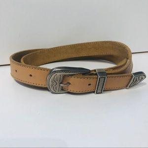 Never Worn GAP leather belt XL